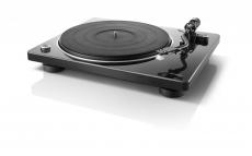 Denon DP-400 Schwarz Hi-Fi-Plattenspieler mit S-förmigem Tonarm