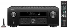 Denon AVC-X6700H Schwarz 11.2-Kanal 8K AV-Verstärker mit 3D-Audio, HEOS Built-in und Sprachsteuerung