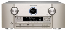 Marantz SR8015 Silber AV-Verstärker mit 11-Kanal-Endstufe, 13.2-Kanal-Signalverarbeitung für perfekten 3D-Sound, 8K Video und HEOS Built-in