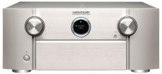 Marantz SR7015 Silber SR7015 Schwarz AV-Verstärker mit 9-Kanal-Endstufe, 11.2-Kanal-Signalverarbeitung für atemberaubenden 3D-Sound, 8K Video und HEOS Built-in
