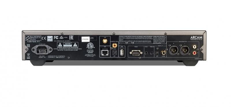 Rückseite Arcam CD-S50 SACD-Netzwerkplayer