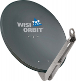 Wisi OA 85 H Anthrazit Offset-Antenne 85cm