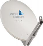 Wisi OA 85 G Lichtgrau Offset-Antenne 85cm