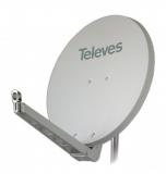 Televes S75QSD-W 75 x 85 QSD Alu-Reflektor weiß