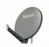 Televes S75QSD-G 75 x 85 QSD Alu-Reflektor grau