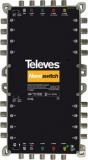 Telestar MS516NCQ 5 in 16 Guss-Multischalter NEVO mit Netzteil, Quadtauglich, kaskadierbar
