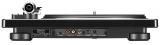 Denon DP-450USB Schwarz Hi-Fi-Plattenspieler mit S-förmigem Tonarm und USB