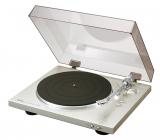Denon DP-300F Silber Vollautomatischer Plattenspieler