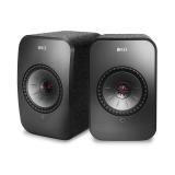 KEF LSX Schwarz Wireless-Lautsprecher mit Uni-Q-Treiber