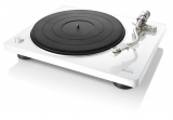 Denon DP-400 Weiß Hi-Fi-Plattenspieler mit S-förmigem Tonarm