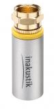 Inakustik Exzellenz UHD Antennenstecker F-Stecker