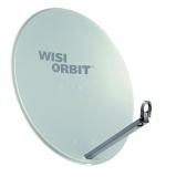 Wisi OA 38 G Orbit Line Parabol-Offsetantenne, 80 cm, lichtgrau