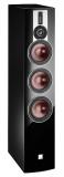 DALI RUBICON 8 Schwarz Standlautsprecher mit Hybrid-Hochtöner und Linear Drive Magnet System (1 Paar)