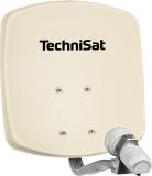 Technisat DIGIDISH 33 Beige Hochwertige 33 cm kleine DigitalSat-Antenne aus Aluminium. Enorm leistungsstark und extrem platzsparend.