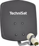 Technisat DIGIDISH 33 Grau Hochwertige 33 cm kleine DigitalSat-Antenne aus Aluminium. Enorm leistungsstark und extrem platzsparend.