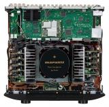 Marantz SR8015 Schwarz AV-Verstärker mit 11-Kanal-Endstufe, 13.2-Kanal-Signalverarbeitung für perfekten 3D-Sound, 8K Video und HEOS Built-in