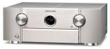 Marantz SR6015 Silber AV-Verstärker mit 9-Kanal-Endstufe, 11.2-Kanal-Signalverarbeitung für erstklassigen 3D-Sound, 8K Video und HEOS Built-in