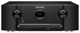 Marantz SR5015DAB Schwarz AV-Receiver mit 7-Kanal-Endstufe für eindrucksvollen 3D-Sound, 8K Video und HEOS Built-in