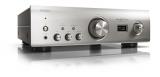 Denon PMA-1600NE Premium Silber Hochwertiger Vollverstärker mit USB-D/A Wandler für hochauflösende Audiodatein